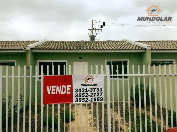 Casa Residencial À Venda, Capela Velha, Araucária - Ca1209. - Ca1209