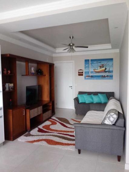 Apartamento Amplo Em Ubatuba - Decorado E Mobiliado - Lindo!