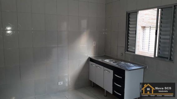 Casa C/1 Dorm, Cozinha, B.nova Gerty - Scsul $800.00 - Cod: 337 - A337