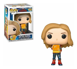 Funko Pop! Marvel Captain Marvel With Box Glows In The Dark
