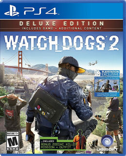 Watch Dogs 2 Deluxe Edition Para Ps4 (en D3 Gamers)