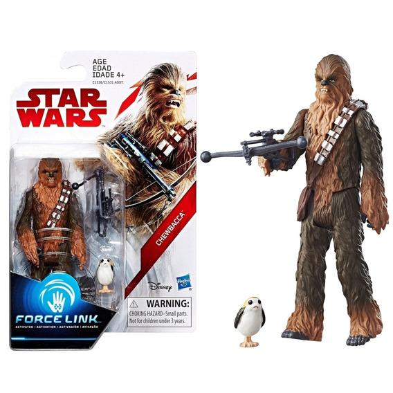 Star Wars Figura De Açao Force Link Chewbacca Hasbro C1531