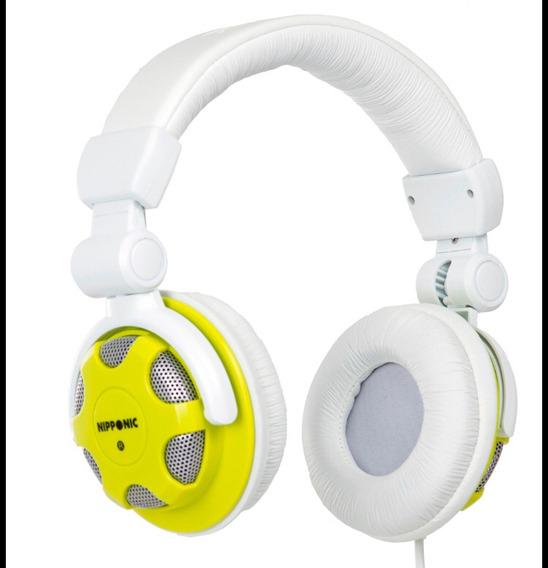 Headphone Nipponic Verde/branco