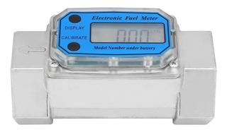 Cuenta Litros Medidor Digital Diesel Gasolina 150 Lpm 1-1/2