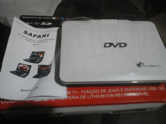 Dvd Portatil Safari Cd/mp3 Sd/usb