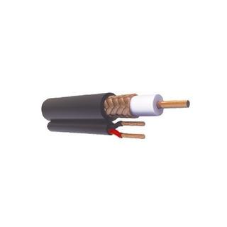 Rg59vcca Cable Coaxial Cable Rg59 Siamés, Hecho En México...