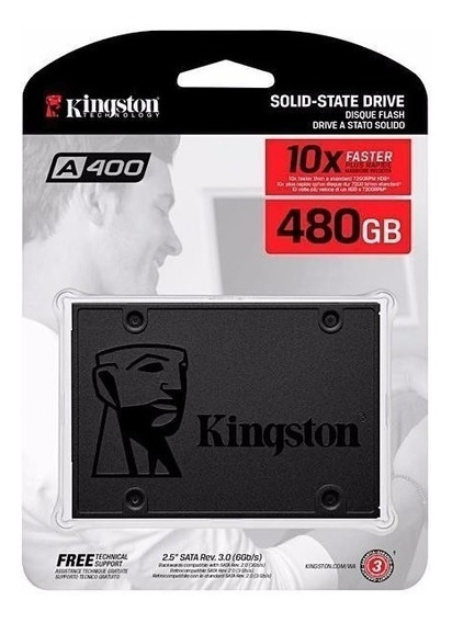 Kit Ssd 480gb + Ssd 240gb + Caddy 12,7mm + Adaptador + Sata