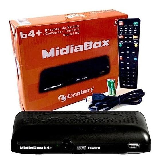 Receptor + Conversor Midia Box B3 Cenury Hdtv Midiabox