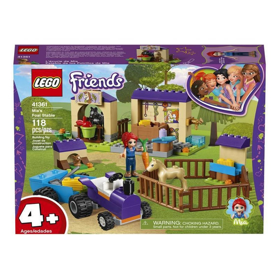 Lego 41361 Establo De Los Potros De Mia