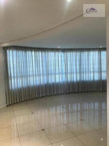Apartamento Com 3 Dormitórios, Sendo 1 Suíte, À Venda, 110 M² Por R$ 850.000 - Jardim - Santo André/sp - Ap3494