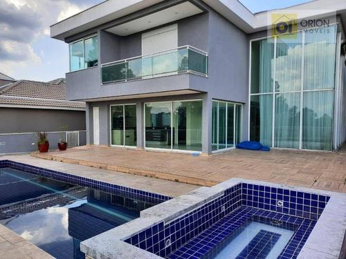 Casa, 550 M² - Venda Por R$ 3.100.000,00 Ou Aluguel Por R$ 13.000,00/mês - Residencial Morada Dos Lagos - Barueri/sp - Ca1009