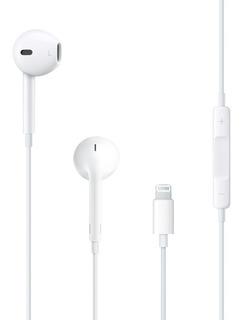 Fone Ouvido Original Apple iPhone 7 8 X 10 Earpods Lightning