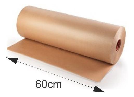 Papel Kraft Pardo Bobina 80 Gr 60cm X 100mts