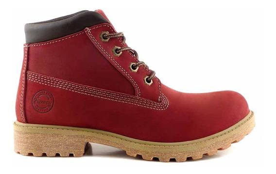 Borcegos Mujer Botas Cuero Freeway Zapatos Goma - Mcbo24882