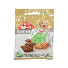 Snack 8in1 Para Cães Filhotes Sabor Frango 55g