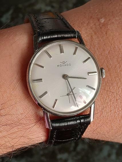 Relógio Antigo Movado, A Corda, Lindíssimo (frete Grátis)