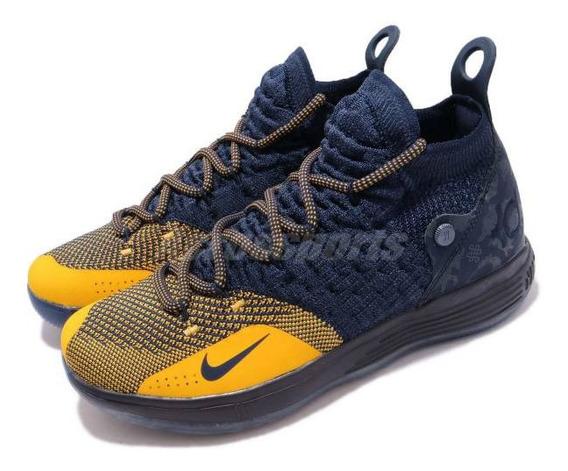 Tenis Nike Kd 11 Gs Xi Zodiac Michigan Originales Nuevo Caja