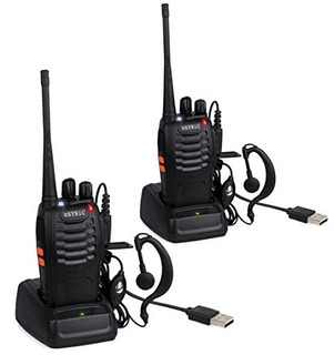 Esynic Walkie Talkies 2 Piezas Cable Usb De Radio Bidireccio