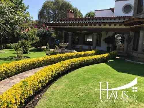 Casa En Condominio, Club De Golf Los Encinos, Lerma
