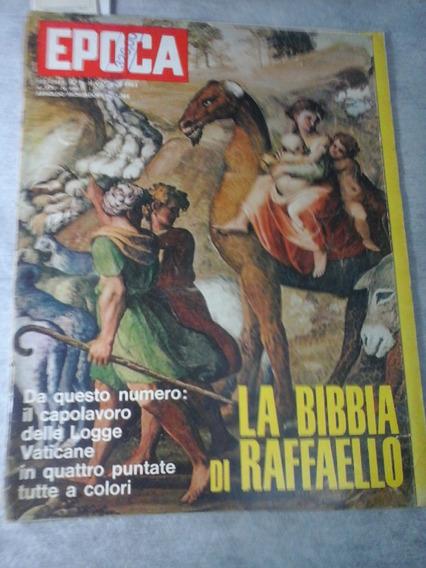 Epoca Italiana De 1963 A Biblia De Raffaello