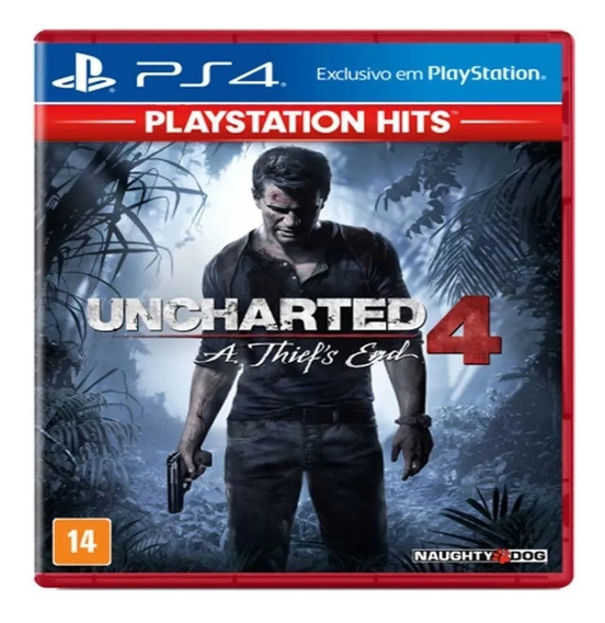 Jogo Uncharted 4 A Thief