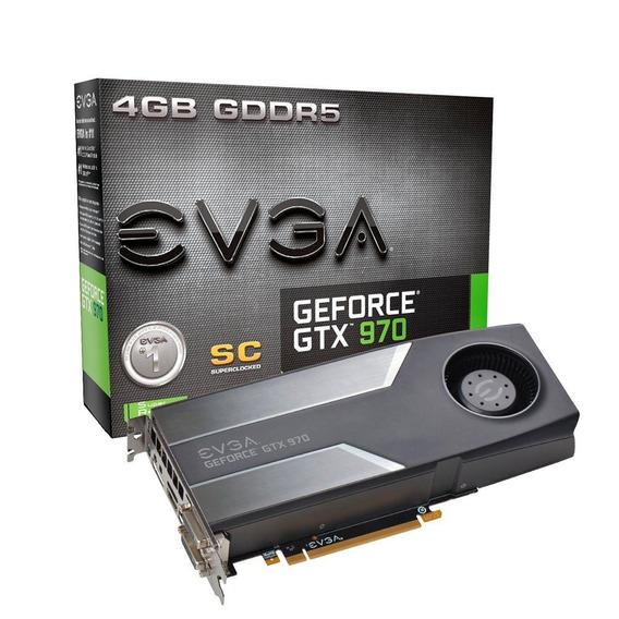 Evga Geforce Gtx 970 4gb Gddr5 Sc Gaming