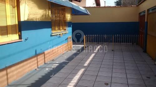 Casa Térrea, Zona Mista, Com 6 Salas, 2 Banheiros, 4 Vagas, Quintal E Edícula No Butantã - Cf65605