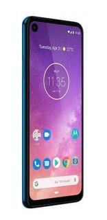Motorola Celular Motorola One Vision 128gb 4g Ds Azul Tdckt