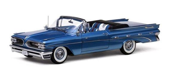 1959 Pontiac Bonneville Azul - Escala 1:18 - Sun Star