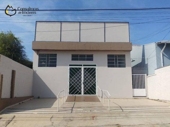 Barracão, 293 M² - Venda Por R$ 520.000,00 Ou Aluguel Por R$ 4.000,00/mês - Vila Bressani - Paulínia/sp - Ba0009