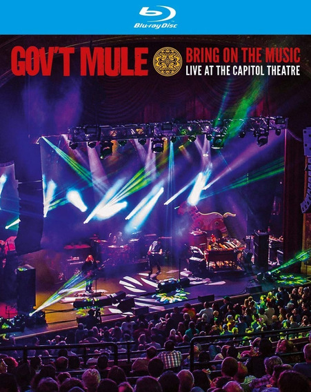 Govt Mule - Bring On The Music - Live At Capitol - Blu Ray