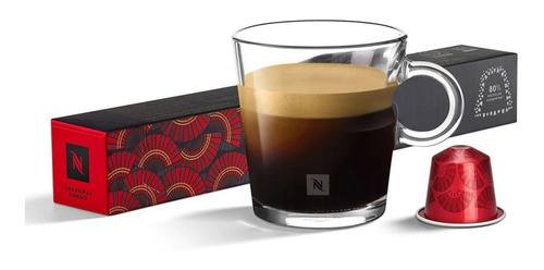 Cápsulas De Café Nespresso Shanghai Lungo - 10 Cápsulas