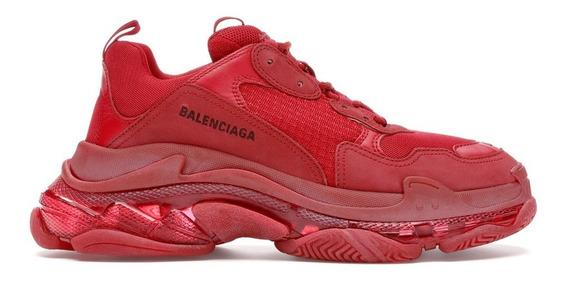 Tenis Balenciaga Red Caballero