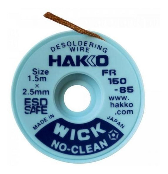 Fita Dessoldadora 1,5m X 2mm F15084 Hakko