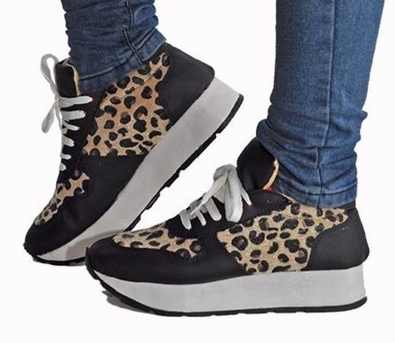 Zapatilla Sneakers Animal Print. Ultima Talle 39. Oferta!!