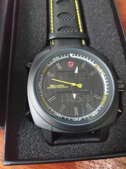 Relógio Shark Sh494 + Brinde Relógio Digital Grátis