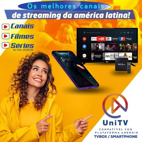 Imagem 1 de 4 de Unitv Plataforma Streaming