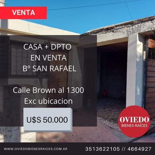 Casa + Dpto En Venta Bº San Rafael - Calle Brown Al 1300
