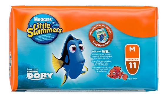 Pañales Para Pileta Huggies Little Swimmers Talle M X11