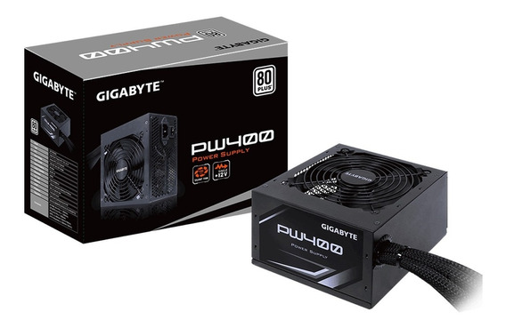 Fonte Gigabyte Pw400 80 Plus White Power Supply Bivolt