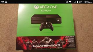 Xbox One Seminuevo Con Fifa 16 Y Gears Of War 4