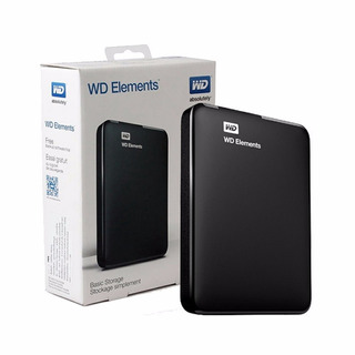 Disco Externo Western Digital Hdd 1tb Wd Elements Usb 3.0