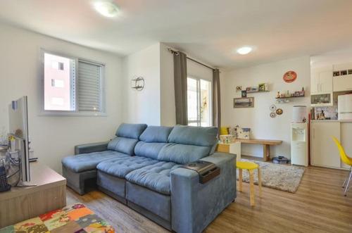 Imagem 1 de 15 de Apartamento Para Venda Por R$593.000.000,00 Com 66m², 2 Dormitórios, 1 Suite E 1 Vaga - Vila Guarani, São Paulo / Sp - Bdi35830