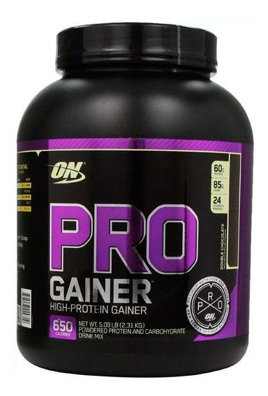 Proteina Optimum Nutrition Pro Gainer 5 Lbs Chocolate