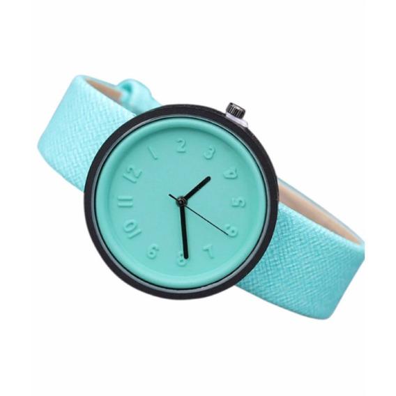 Reloj Dama Verde Con Negro