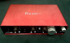 Placa De Audio ( Interface ) Focusrite Scarlett 2i4 2nd Gen