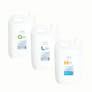 Shampoo Champu Nov De Keratina, Argan Y Lino X 3900