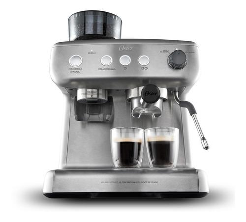 Imagen 1 de 9 de Cafetera Para Espresso Oster® 15 Bares, Molino Integrado