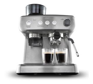 Cafetera Para Espresso Oster® 15 Bares, Molino Integrado