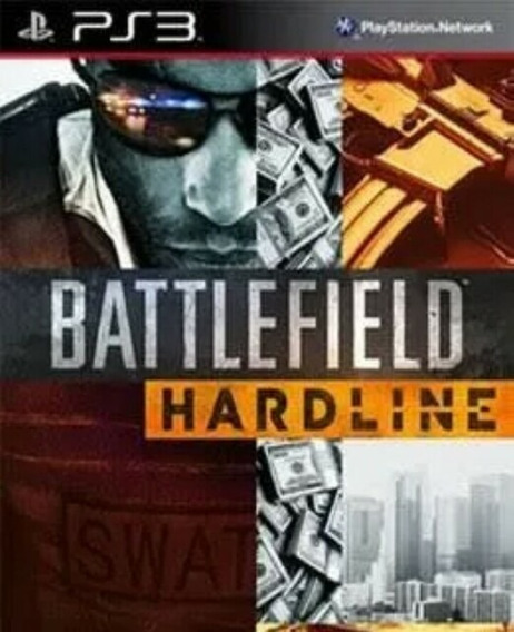 Battlefield Hardline Ps3 Português Dublado Brasil Jogo